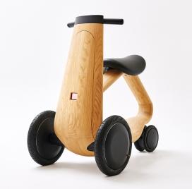 木质电动ILY-Ai踏板车