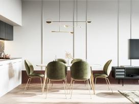 五个现代家庭室内装饰