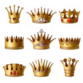 黄金皇冠素材
