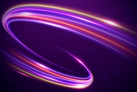 紫色旋转风素材