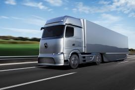 梅赛德斯·奔驰三款电动货车汽车