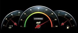 汽车速度码表素材