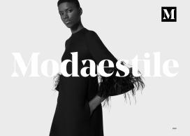 Modaestile-时尚女性包包时装网页设计