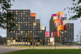 阿姆斯特90000平米的丹彩色学生公寓