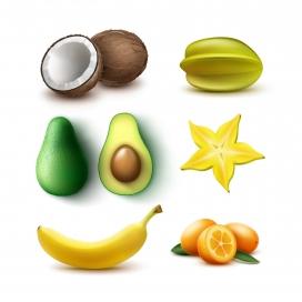 清晰新鲜的水果素材下载