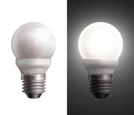 白色灯泡素材下载