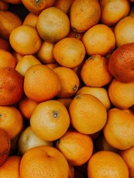 冬季脐橙水果图片