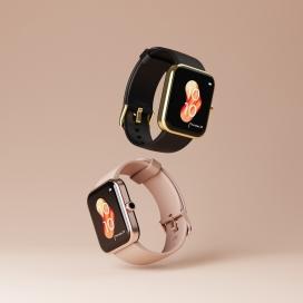 鲜艳俏皮的iWatch手表