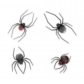 逼真的黑色蜘蛛素材下载