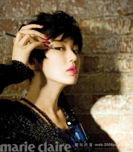 尹恩惠《MARIECLAIRE》生活时尚时装大片