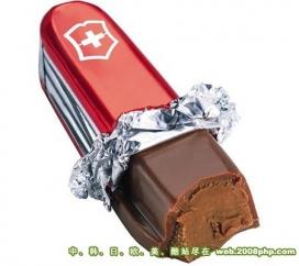 国外超酷创意巧克力食品设计